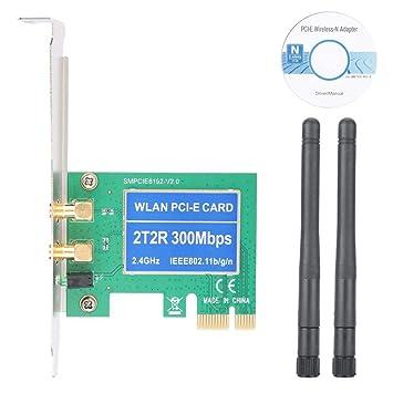 Diyeeni Tarjeta de Red PCI Express PCI-E, Adaptador WLAN de ...