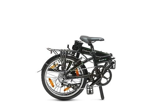 Dahon Vitesse D8 Bicicleta Plegable, Unisex Adulto, Negro Obsidian, 20