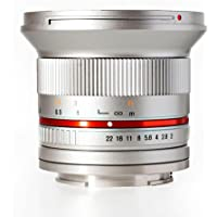 Rokinon 12mm f/2.0 Ultra Wide Angle Lens for Sony E-Mount (Silver)