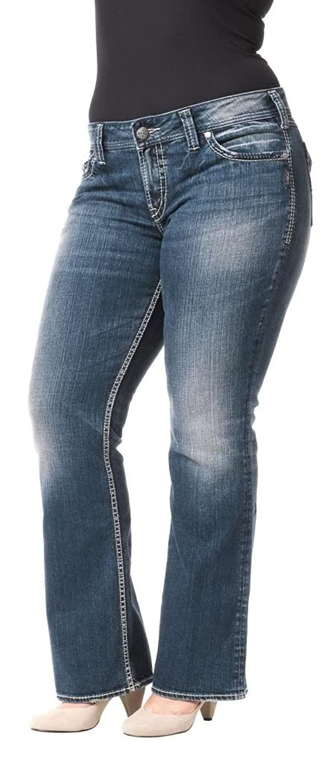 on sale Silver Jeans Women Suki Surplus Plus Size Bootcut Mid Rise