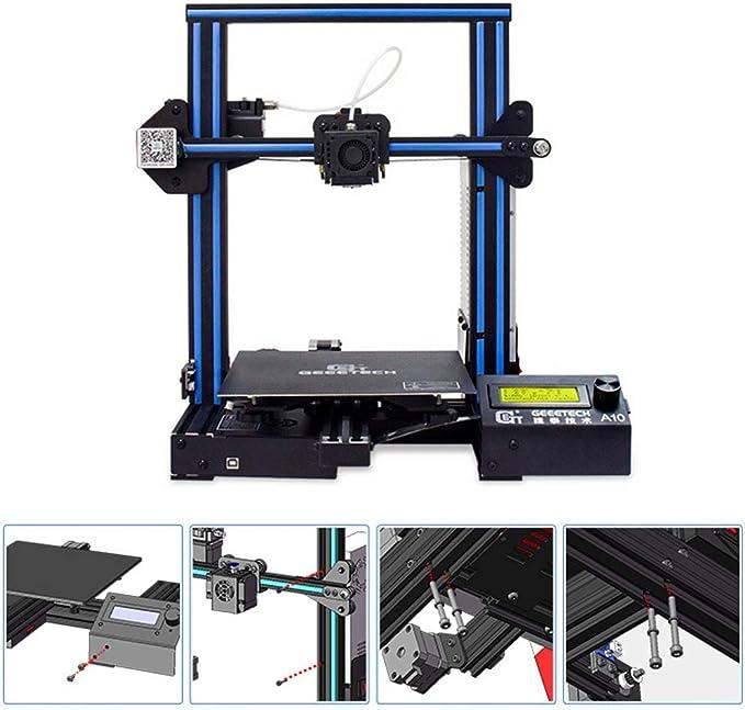 DM-DYJ Impresora 3D Casera, A10 Instalación Rápida Grado Cuasi ...