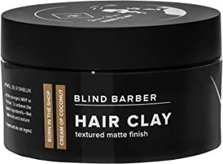 product image for Blind Barber Bryce Harper Hair Clay - Volumizing Styling Paste for Men, Strong Hold Matte Finish, Water Based Hair Product for Men - (2.5oz / 70g)