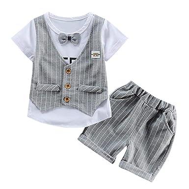 1a12e4de1 Amazon.com  Newborn Boy Girl Outfits Clothes