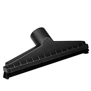 WORKSHOP Wet Dry Vacuum Accessories WS25014A Wet Dry Vac Floor Brush Attachment For 2-1/2-Inch Wet Dry Shop Vacuum Hose