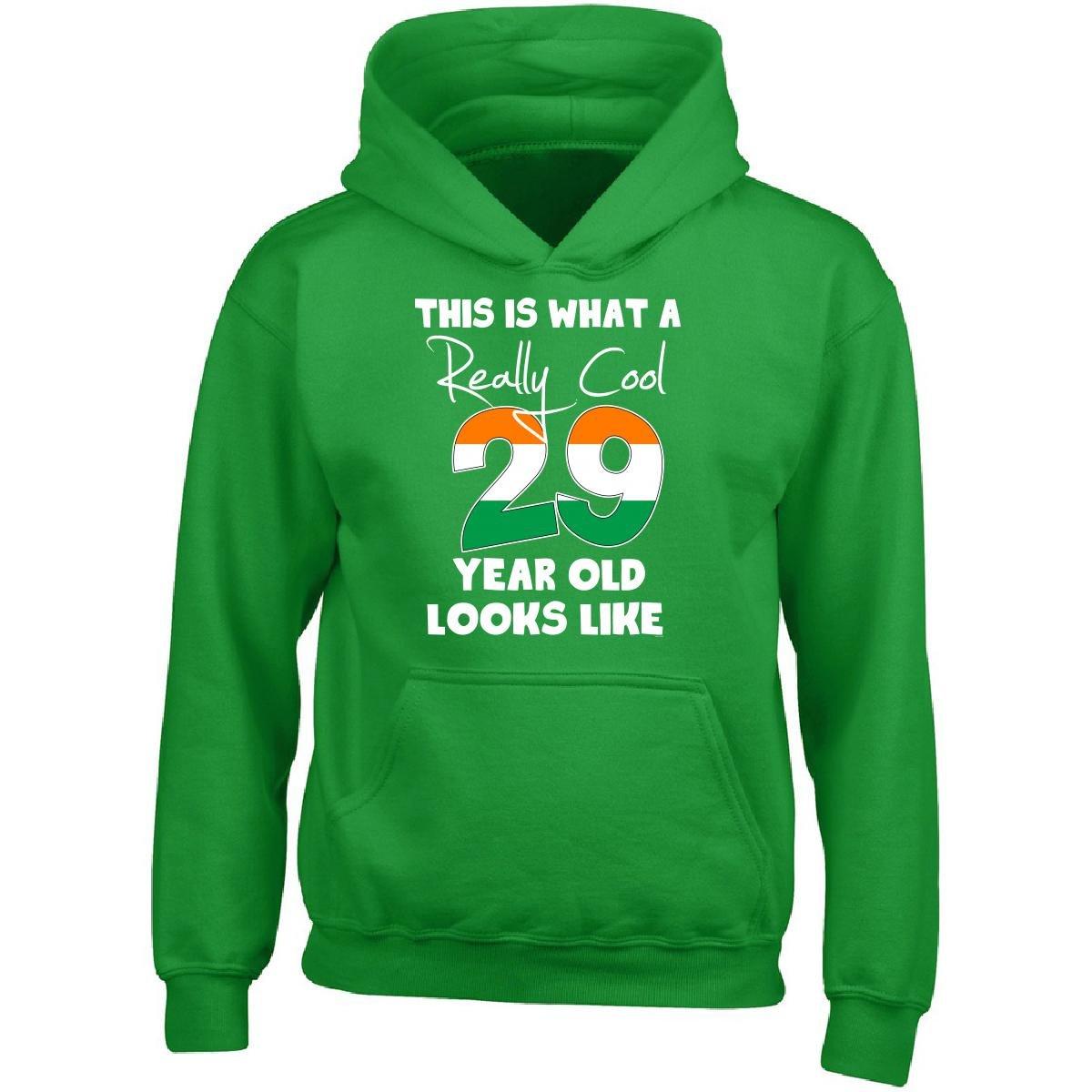 Adult Hoodie BADASS REPUBLIC Irish 29th Birthday Gift Ideas For Men Or Woman