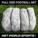 FORZA 24ft x 8ft Replacement Football Goal Net - 2.5mm Heavy Duty Full Size Net