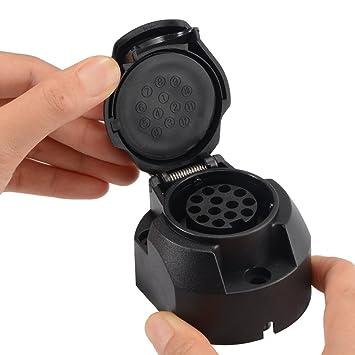 XCSOURCE® 13 Pin 12V 12N Anhänger Stecker Verdrahtung Signal Licht ...