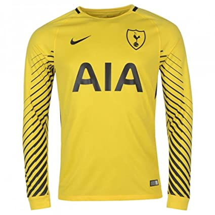 88789f7f7 Image Unavailable. Image not available for. Color  Nike 2017-2018 Tottenham  Home Goalkeeper ...