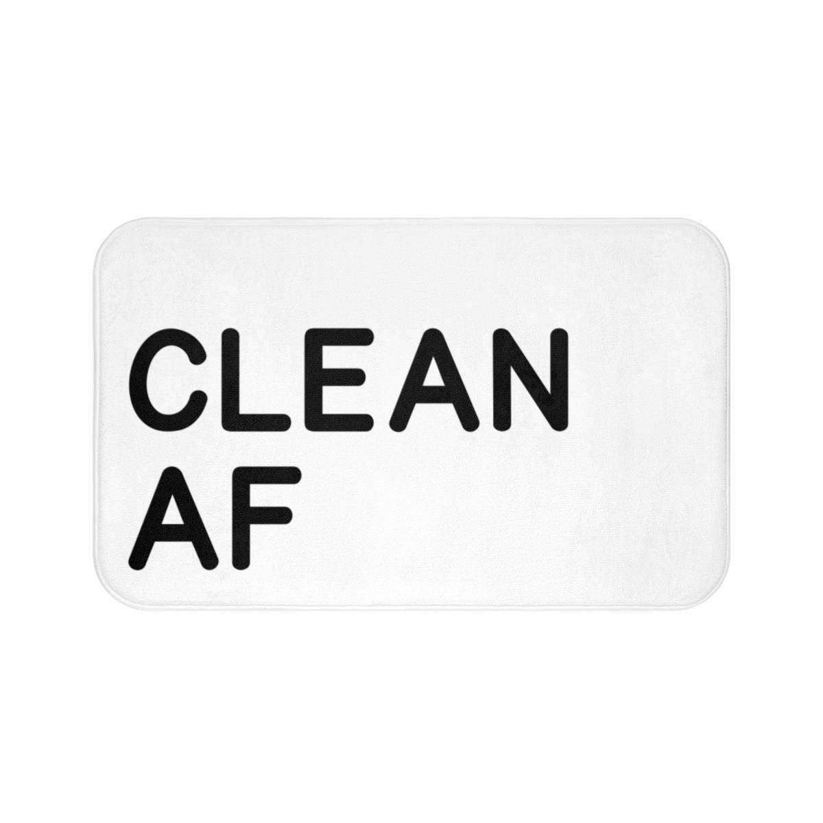Clean Af Bath Mat Coral Fleece Area Rug Door Mat Bathroom Decor Entrance Rug Floor Mats 16X24 Theobald Jordan