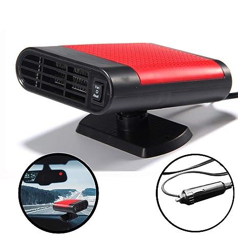 Tragbar Auto Entfroster 12V 150W Schnelle Heizung Defrost Defogger Luft Reinigen