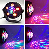 Lannmart Steel LED Lights Holiday Colorful Rotate