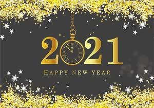 Amazon.com : AOFOTO 10x7ft 2021 Happy New Year Backdrop ...