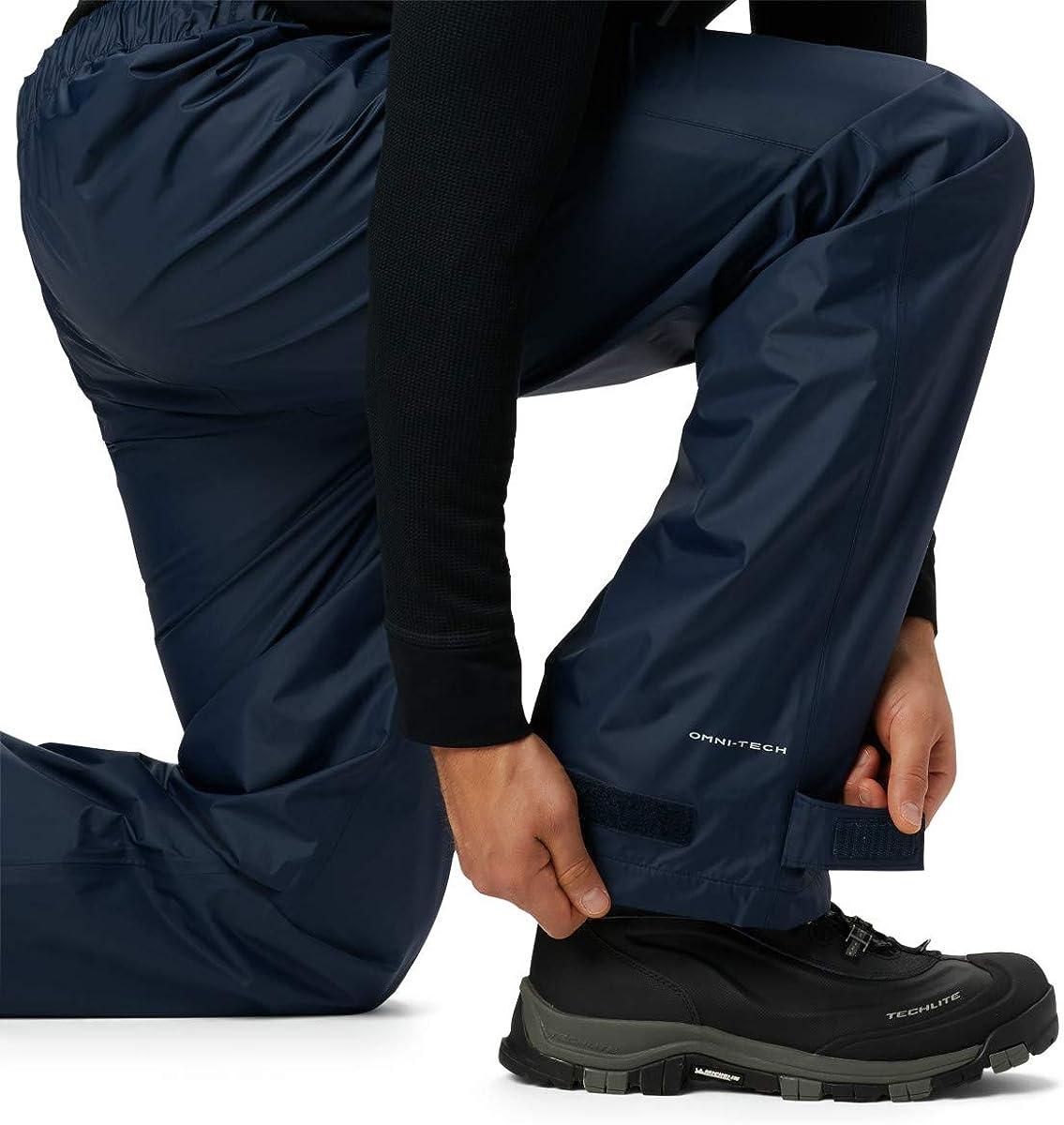 Collegiate Navy Columbia Big and Tall Mens Rebel Roamer Rain Pant Waterproof /& Breathable 4X x 32 Inseam