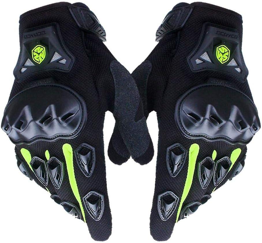 SCOYCO Men's Black Waterproof Gloves With Microfiber Hard Knuckle