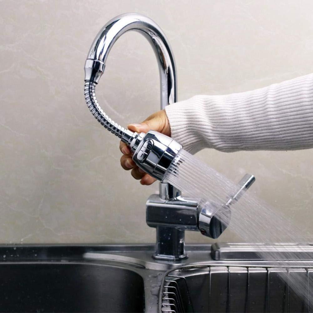 grifo de cocina para ahorro de agua grifo aspersor de cocina ba/ño y ducha Aireador de grifo boquilla difusora de manguera de grifo giratorio de 360/°