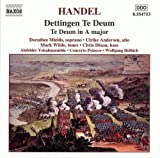 Classical Music : Handel - Te Deum in D major HWV 283 · Te Deum in A major HWV 282 / U. Andersen · Dixon · Mields · M. Wilde · Helbich