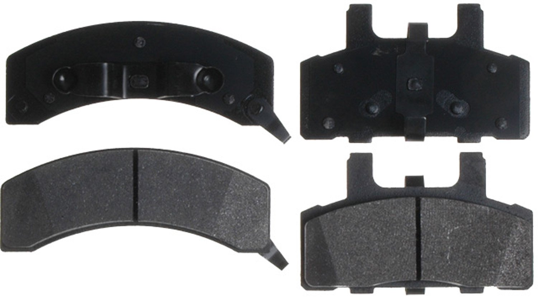 ACDelco 14D369MX Advantage Severe Duty Organic Front Disc Brake Pad Set