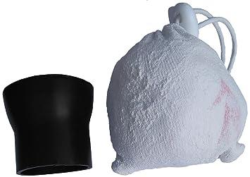 Bola de Magnesio Rellenable Con 100Gr. De Magnesio The White Grip Y Embudo: Amazon.es: Deportes y aire libre