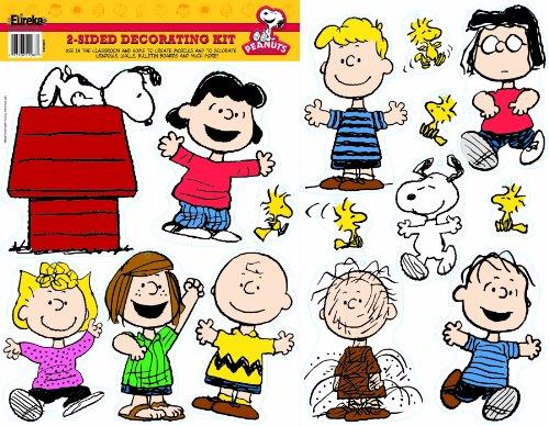 Eureka Peanuts Classic Characters Deco Kit -
