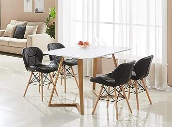 P&N Homewares® - Modèle Cecilia Dallas - Ensemble Table de ...