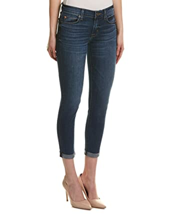 b9fe4d45b45 Image Unavailable. Image not available for. Color  HUDSON Jeans Harkin  Matchmaker Crop Super Skinny ...