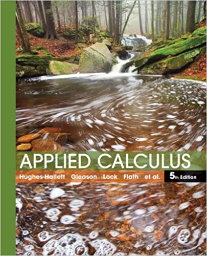 applied calculus 5th edition 5 deborah hughes hallett patti