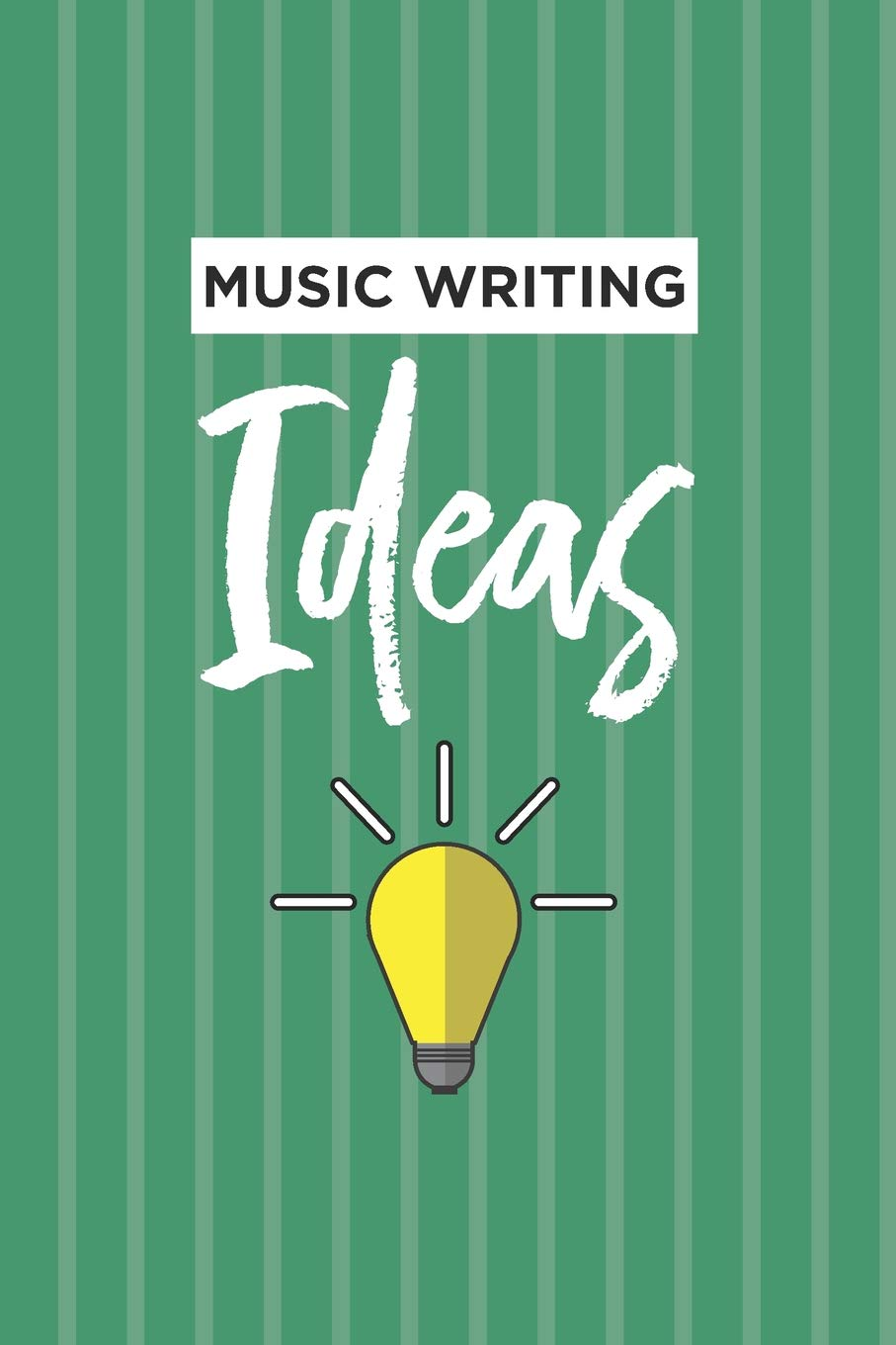 Amazon.com Music Writing Ideas Notebook Blank Lined