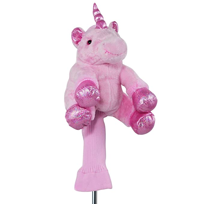 Amazon.com: 3pc Rosa Unicornio de peluche cabeza Flamingo ...