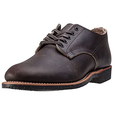 Red Wing Mens Merchant Oxford 8044 Ebony Leather Shoes 41.5 EU kUadls