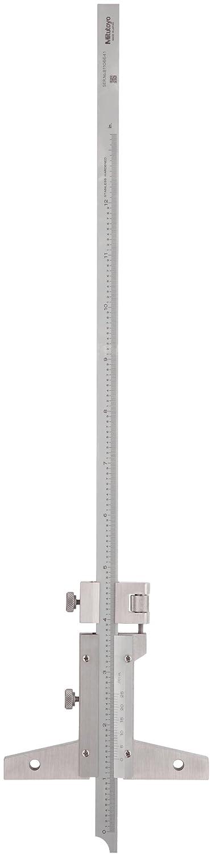 0.001 Graduation Mitutoyo 527-113 Vernier Depth Gauge +//-0.0015 Accuracy 0-12 Range Caliper Type