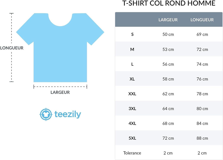 TEEZILY T-Shirt Homme Certaines Personnes ne m/'aimeront jamais mais j/'en AI Rien /à Foutre