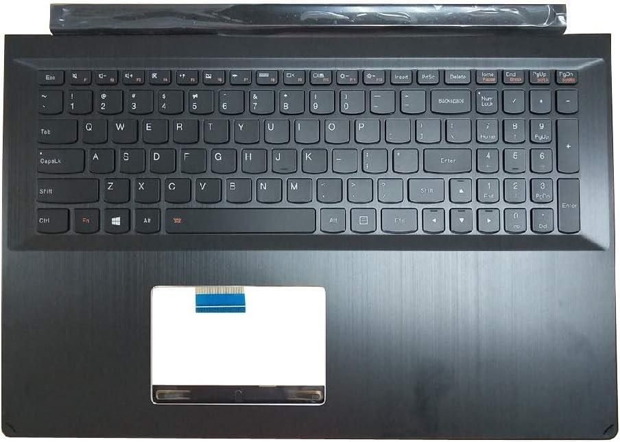 Laptop PalmRest&Keyboard for Lenovo Edge 15 Flex2-15 Flex 2-15 5CB0G91191 English US Upper Case Keyboard Bezel Cover with Touchpad New