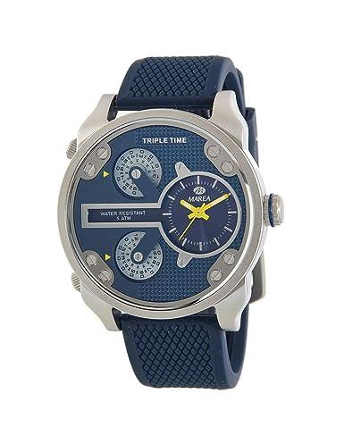 04d365bdcd8 Reloj Marea Hombre B54129 2 Triple Time  Amazon.es  Relojes