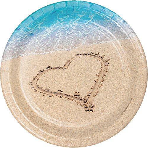 (Beach Love Dessert Plates, 24)