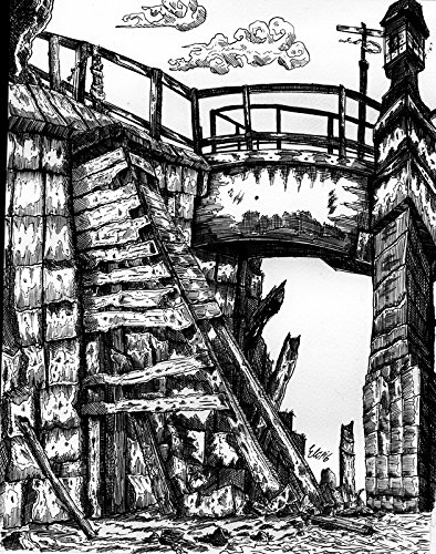 ''Fort Point Channel'' Pen & Ink on Paper - Original by Eli Portman by TOROSIETE