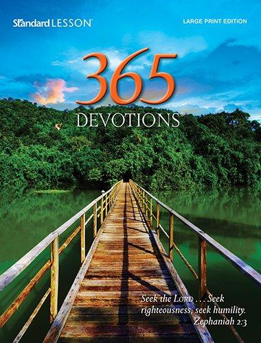 Read Online 365 Devotions® Large Print Edition—2015 pdf