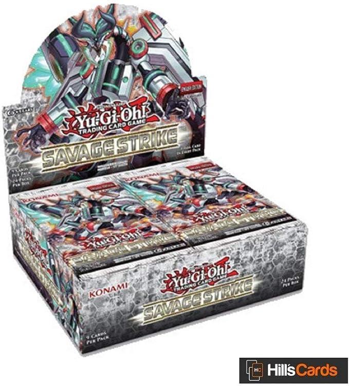 Yu-Gi-Oh! KONSSBB Savage Strike Booster - Caja de 24 Paquetes ...