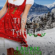 Tinsel in a Tangle Audiobook by Laurie Germaine Narrated by Angie Hickman