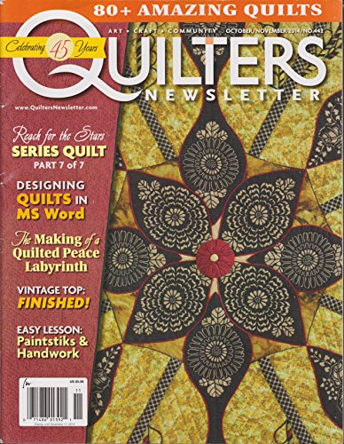 - Quilters Newsletter Magazine October/November 2014