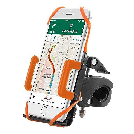 561 opinioni per Supporto Bici Smartphone TaoTronics Porta Cellulare Bici, Supporto Manubrio