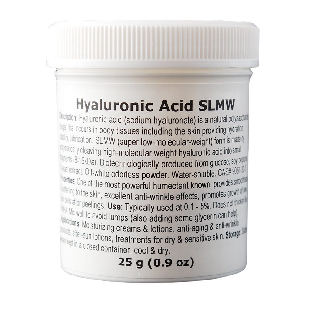 MakingCosmetics - Hyaluronic Acid (Super Low Molecular Weight) - 0.9oz / 25g - Cosmetic Ingredient
