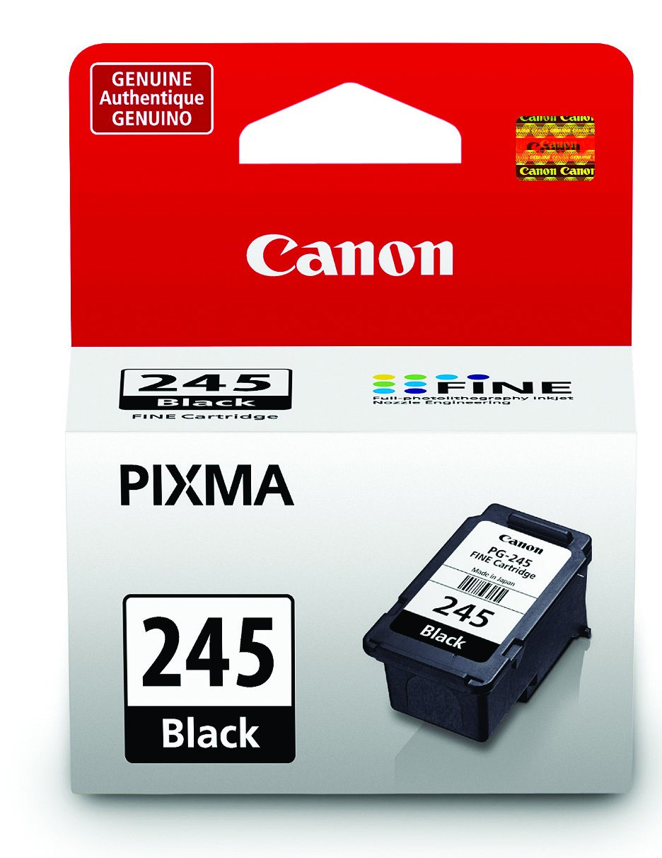 Canon PG-245 Black Cartridge, Compatible to MX492, MG3020, MG2920,MG2924, iP2820, MG2525 and MG2420 by Canon