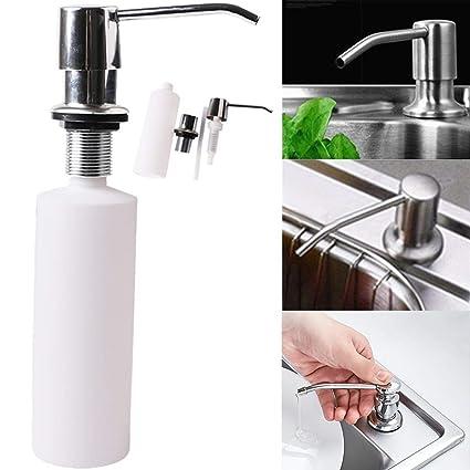 amazon com capsa sink soap dispenser for kitchen sink stainless rh amazon com