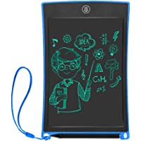 Ksera Updated 8.5 Inch LCD Writing Tablet, Electronic Writing Drawing Board Tablet eWriters with Magnet, Memory Lock 1 Key Erase Function Suitable for Office Home School Handwriting Notebook (Blue)