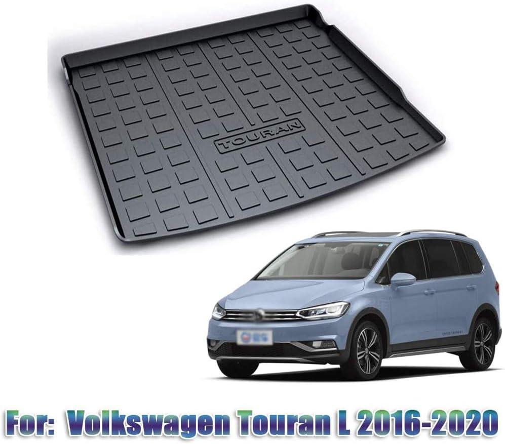Imperm/éable Lavable BTSDLXX Car Liner Plateau de Coffre Tapis de Rangement Antid/érapant pour VW Touran 2006-2015 // Touran L 2016-2020 Protection Contre Les Coups Pied Sol Boot Mats