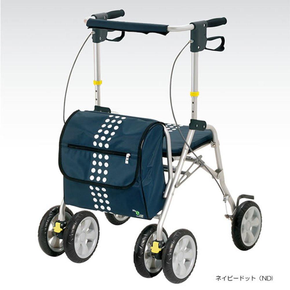 【非課税】 マキテック アレグロ 歩行車 ネイビードット (HX-385ND) B007H5KD5I