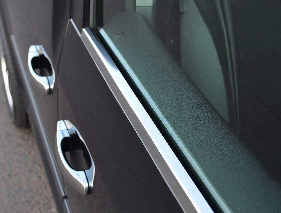 Caddy - Marco de acero inoxidable cromado para ventanas delanteras ...