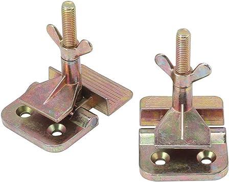 Serigraf/ía herramienta DIY Hobby Abrazadera de bisagra de metal mariposa paquete de 2