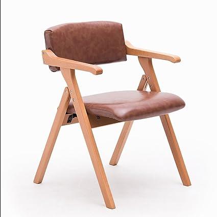 Sedie Pieghevoli Con Braccioli.Chair Ql Sedie Richiudibili Nordico Minimalista Creativo Con
