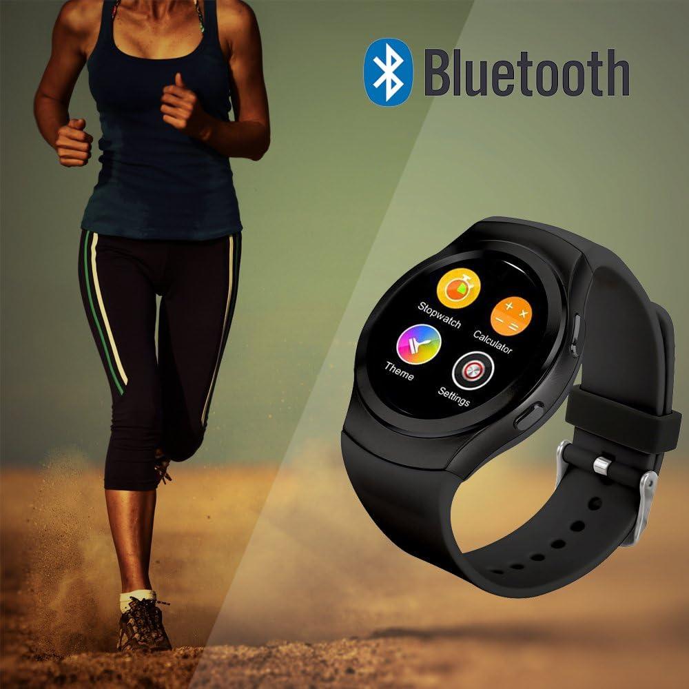 Amazon.com: DMYEC No.1 G3 Bluetooth Smart Watch Compatible ...